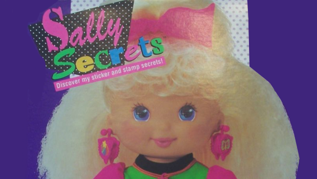 sally secret mattel