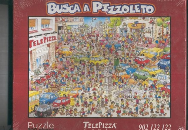 Telepiza Pizzoleto puzle