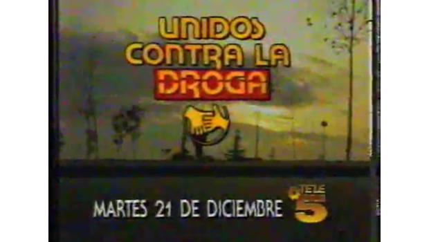 El día que Telecinco se unió contra la droga