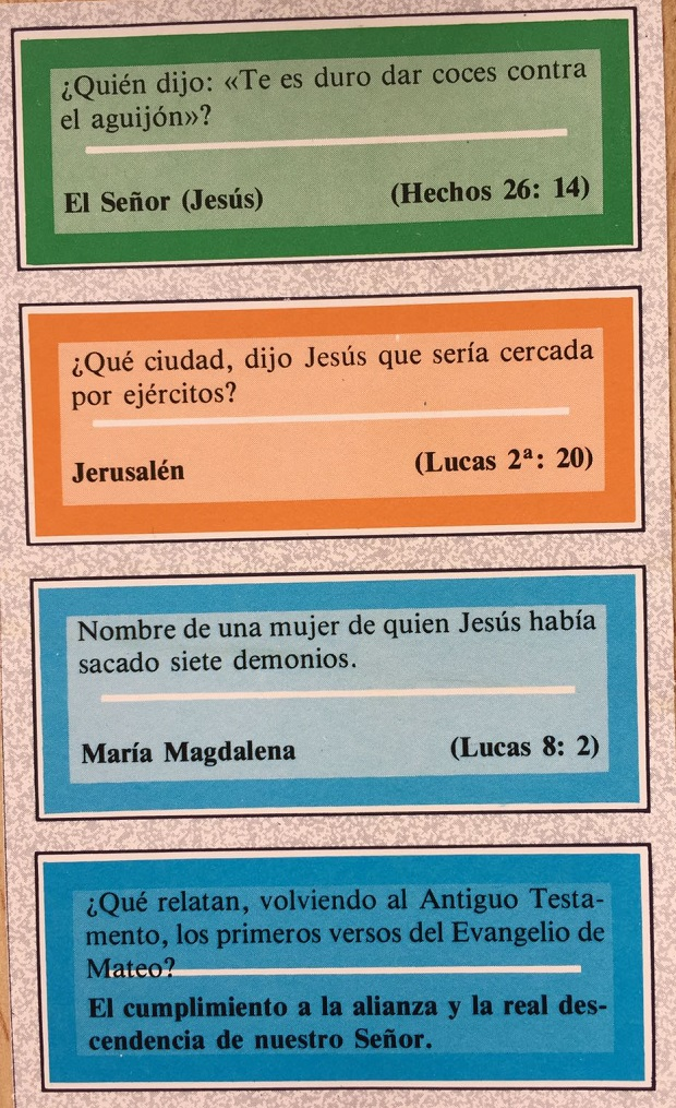 Trivial Jesucristo