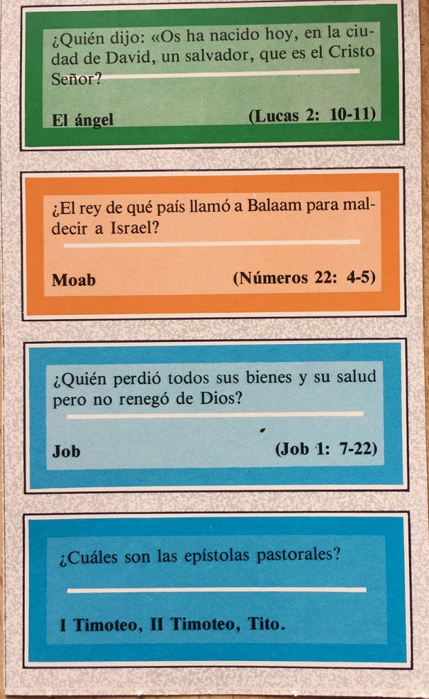 Trivial Pursuit Biblia