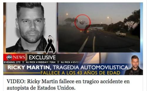 muere ricky martin