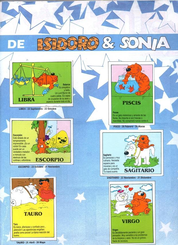 Isidoro Album de Cromos Serie