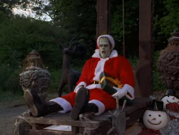 Herman Monster Navidad Santa Klaus