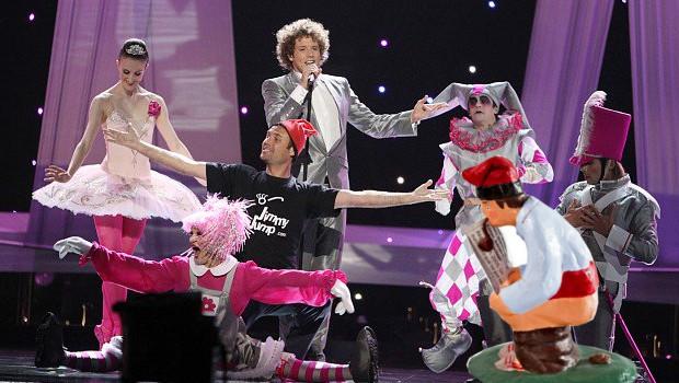 jimmy jump eurovision
