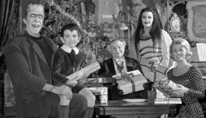 la familia monster navidad