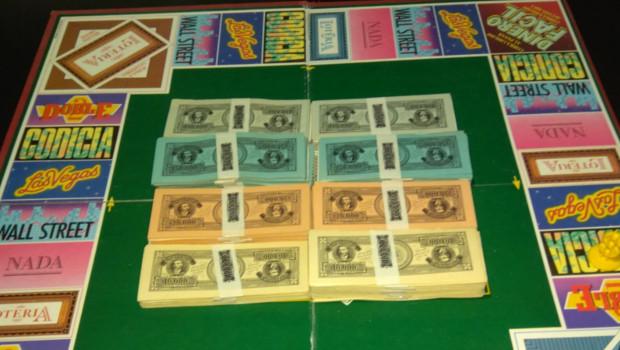 tablero dinero facil juego de mesa