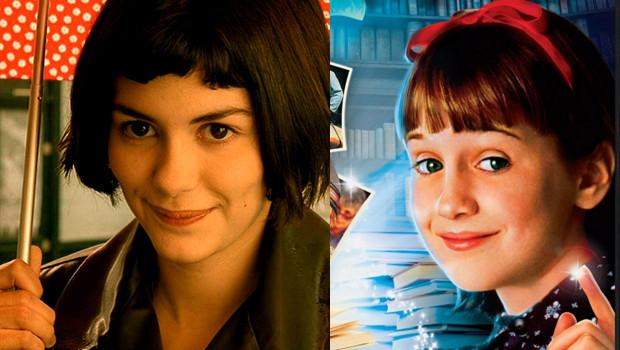 ¿Son 'Matilda' y 'Amelie' la misma película?