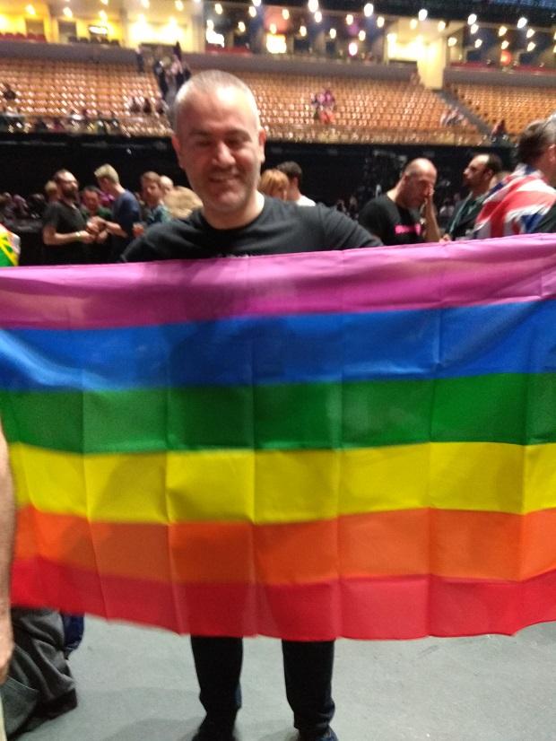 bandera lgbt semifinal eurovision
