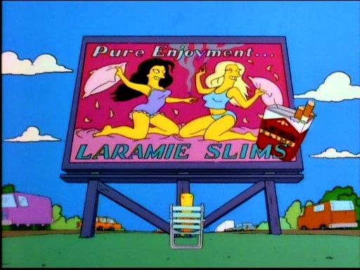 Laramie Los SImpson tabaco