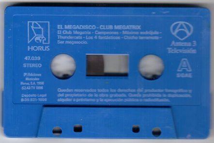 mega disco cassette megatrix