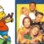 ¿Bart Simpson o Bom Bom Chip? ¿Quién multiplicó antes por cero?