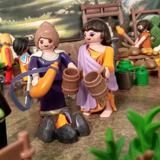 aldeanas belen playmobil ideas