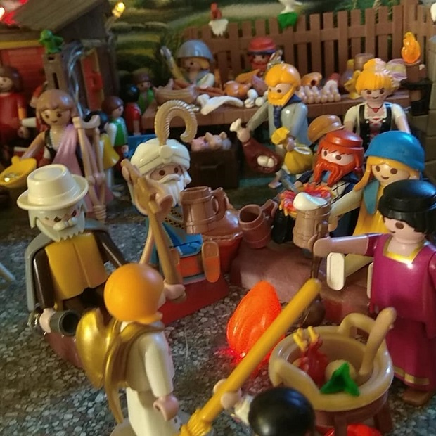 anunciacion a los pastores playmobil