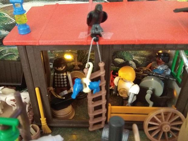 herreria portal de belen playmobil