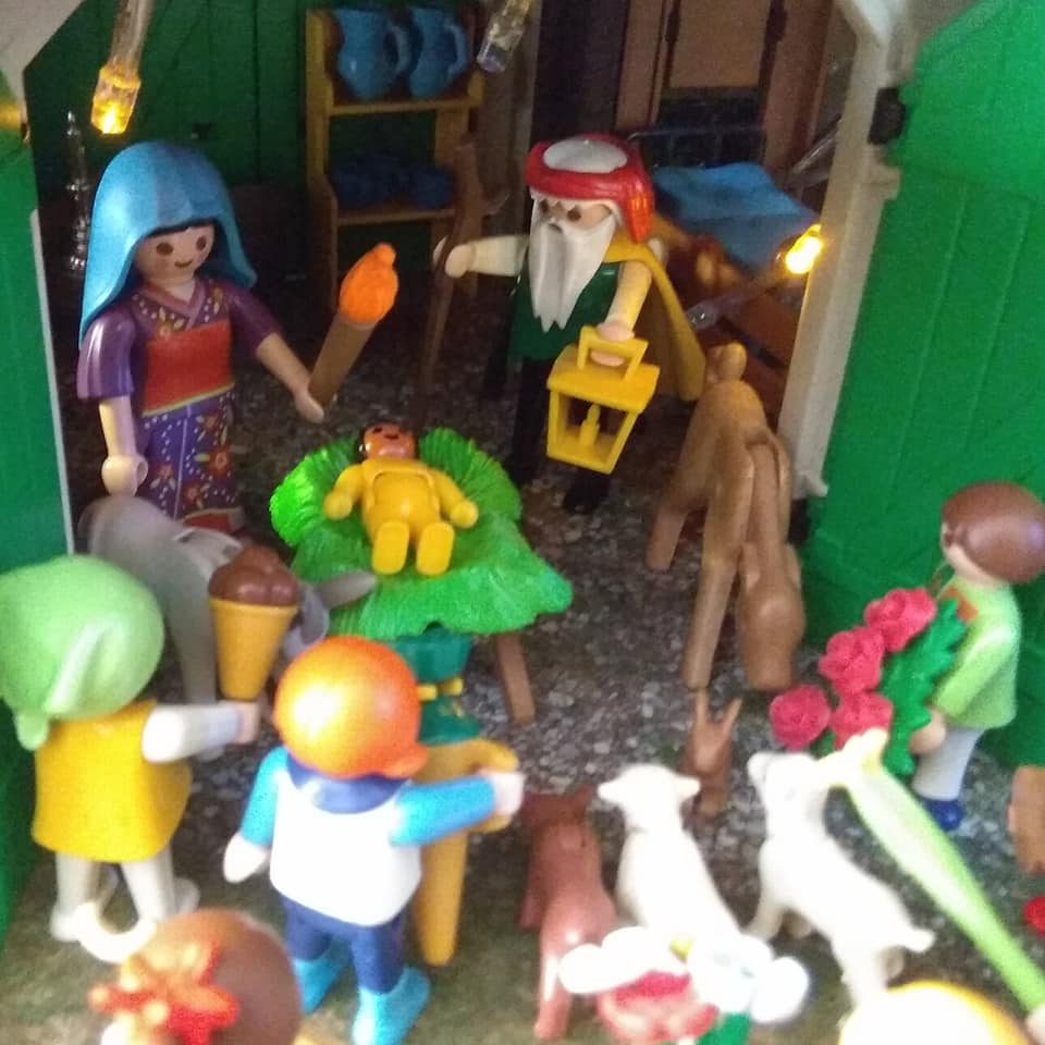 ideas belen playmobil