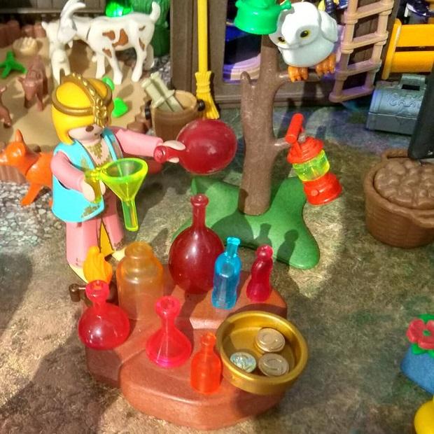 vendedora de perfumes belen playmobil