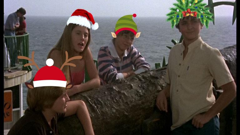 Las bofetadas más navideñas de 'Verano Azul'