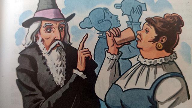 El sabio del pueblo era Don Cicuta