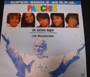 Un disco con el papa en la portada, el sueño de todo niño
