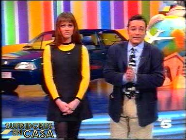 Alba y Goyo al inicio de un programa