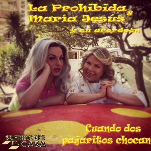 Dramatización de la portada del single. Foto original robada del Instagram de La Prohibida