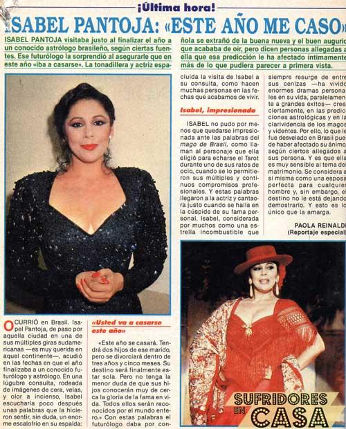 Isabel Pantoja 1992