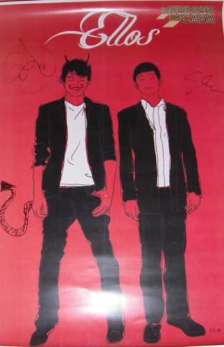 Regalamos un poster del grupo, como la Super Pop