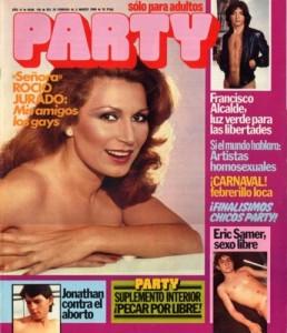 Rocío Jurado fue musa de la revista Party, la abuela de la Zero