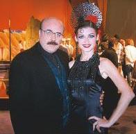 Constantino con la cantante Adela Romero, Estrellita la Moderna