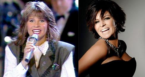 Carola 15 años después...como siga así va a estar más joven que Hannah Montana