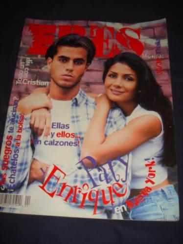 A Enrique no se le ve muy convencido con su tronista de portada