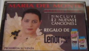 Un cubito de persil, unas gotas de lenor y María del Monte...pero apaisada