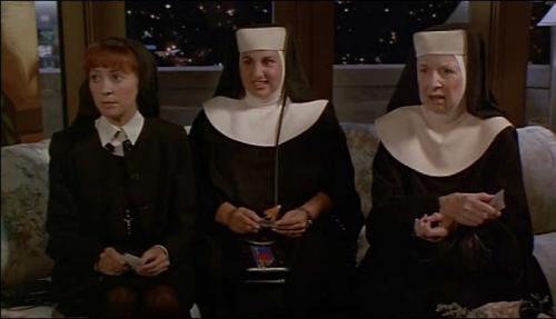 """Las """"Sisters"""", poniendo caretos"""